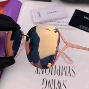 CHANEL Accessories - Chanel Fashion Sunglasses with box